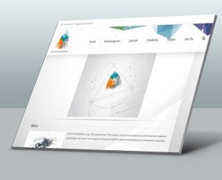 Website verzorging voor Philips Adviesbureau