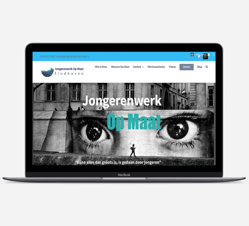 Webdesign – Jongerenwerk Op Maat